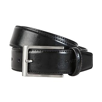 Strellson belts men's belts leather belts men's leather belts black 1299