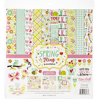 Echo Park Spring Fling 12x12 Inch Collection Kit