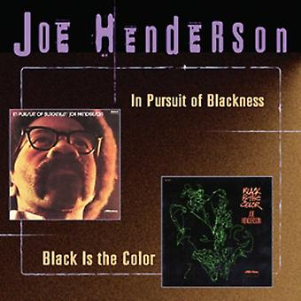 Joe Henderson - In Pursuit of Blackness/Black [CD] USA import