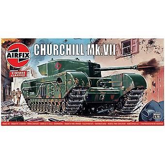Airfix A01304V Churchill Mk.VII Tank 1:76 Modellbausatz
