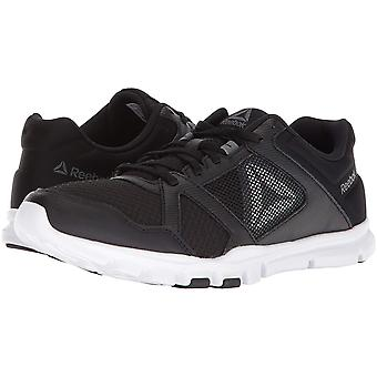 Reebok Mens YourFlex Low Top Lace Up Walking Shoes