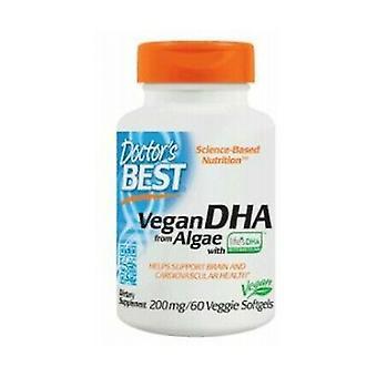 Vegan DHA van Algen, 200mg 60 plantaardige capsules