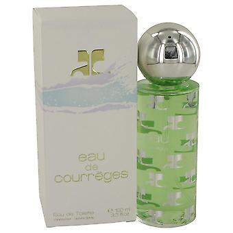 Eau de courreges eau de toilette spray by courreges 412502 100 ml