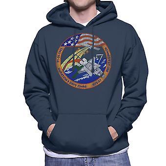 NASA St 57 Endeavour missie Badge verdrietig mannen Hooded Sweatshirt