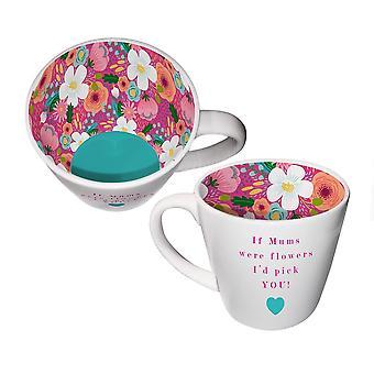 Two Up Two Down Mum Mug