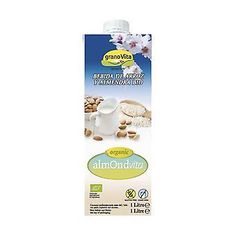Almondvita Bio Rice and Almond Drink 1 L