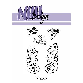 NHH Design Seahorse Clear Stamps