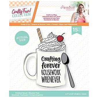 Crafter's Companion Crafty Fun Craft in a Mug Stamp & Die