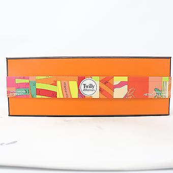 Hermes Twilly D & apos; hermes hajustettu saippua 3-kpl lahjasetti / uusi laatikko
