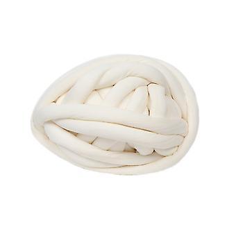 Super Chunky Acrylic Core Yarn Giant Wool Milky