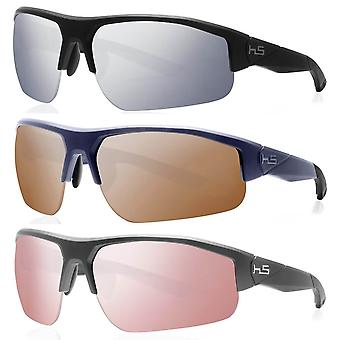 Henrik Stenson Mens Stinger Anti-Scratch Mirrored Golf Sunglasses