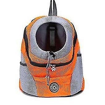 Double Shoulder Portable Travel Backpack For Pet Dog Carrier