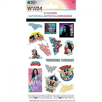 Wonder Woman 1984 Movie Logos and Gal Gadot Sticker Pack