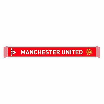 2020-2021 Man Utd Adidas 3S Scarf (Red)