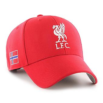 47 Brand Relaxed Fit Cap - FC Liverpool Norway Flag