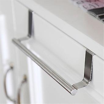 Stainless Steel Bathroom Towel Holder For Cabinet Door