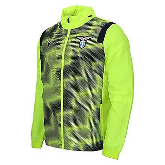 2020-2021 Lazio Full Zip Training Jacket (Geel)