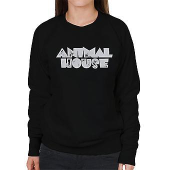 Animal House White Logo Kvinnor's Tröja