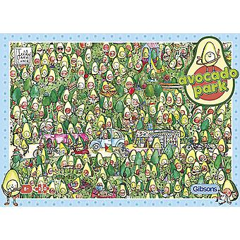 Gibsons 250XL Piece Avocado Park Jigsaw Puzzle