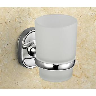 Luxury Silvery Aluminum Single Cups Holder