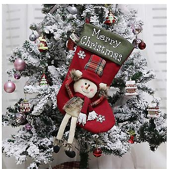 Christmas stocking Christmas stocking - Snowman