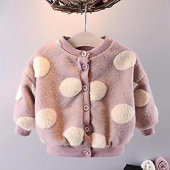 Vêtements d'hiver nouveau-nés - Manteau polaire à manches longues, manteau épaissi en cachemire