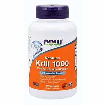 Nyt Elintarvikkeet Neptune Krill Oil 1000 mg, 60 Softgels