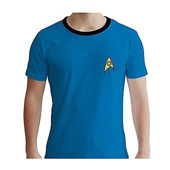 Star Trek T Shirt Crew new Official Mens Blue