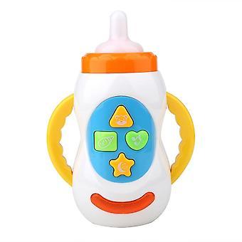 Kids Sound Milk Bottle - Sikker musikk Lys MelkFlaske, Musikalsk Læring