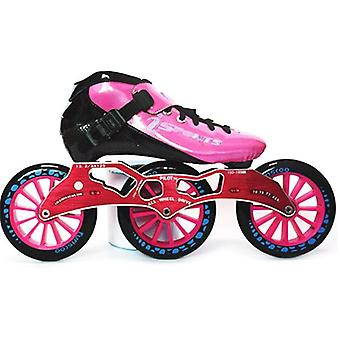 Skates Carbon Fiber Competition Roller Wheels Racing Train Skating Patines