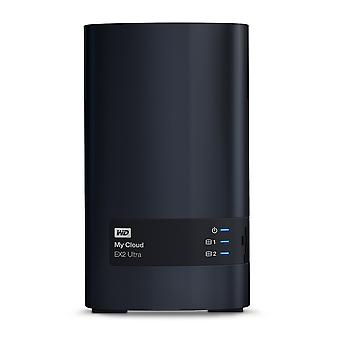 Wd my cloud ex2 ultra - noir, 8 to 8 tb