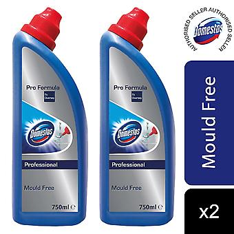 Domestos Mould free 750ml, Pack of 2