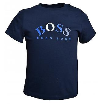 Hugo Boss Pojat Hugo Boss Infant Boy's Navy T-paita