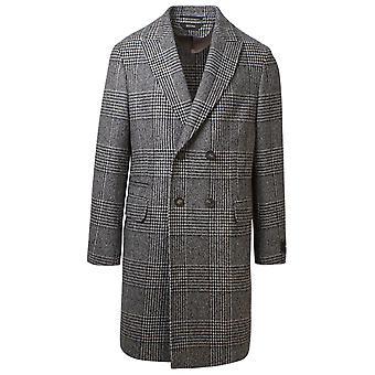Z Zegna 8997244dg4g024 Men's Grey Wool Coat