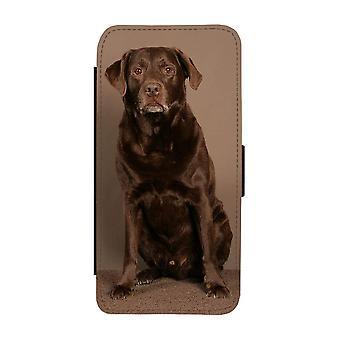 Brown Labrador iPhone 12 Pro Max Wallet Case