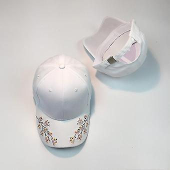 Hats Women Embroidery Cotton Baseball Snapback Caps & Hip Hop Hats /  Girls