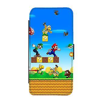 Custodia portafoglio Super Mario iPhone 12 / iPhone 12 Pro