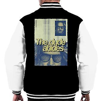 Iso Lebowski The Dude Abides Juliste Men's Varsity Jacket