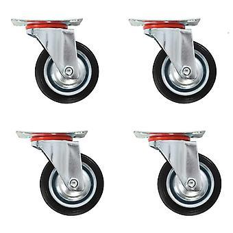 8 pcs. steering wheels 75 mm