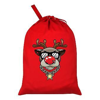 Grindstore Bling Rudolph Santa Sack