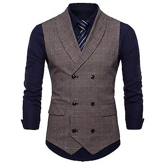 Spring Business Vest Men's Clothing, Male Autumn Jacket, Casual Suit With