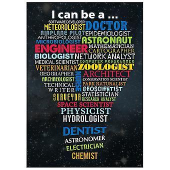 Stem Careers Inspire U Poster, Grade 3+