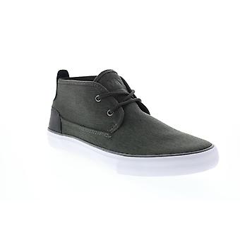 Andrew Marc Bergen Mid  Mens Gray Canvas Lifestyle Sneakers Shoes