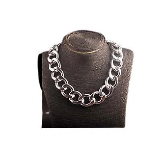 Ccb Thick Chain Hip Hop Big Jewelry Long Clavicle Necklace