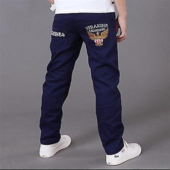 Scrisori Jeans Pentru Pantaloni, Casual Elastic Talie Pantaloni Creion,ăs Haine