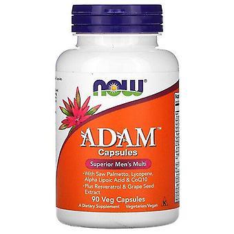 Now Foods, ADAM, Superior Men's Multi, 90 Cápsulas Veg