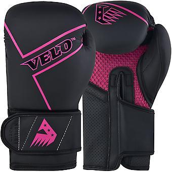 VELO Boxing Gloves Matt Leather