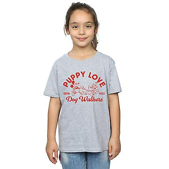 Disney Girls Mickey Mouse Puppy Love T-Shirt
