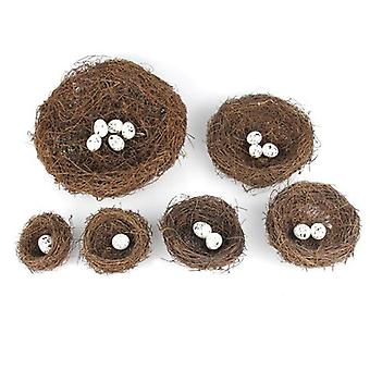 Nature Vintage Decoration Prop Bird Nest, Creative For Optical Store