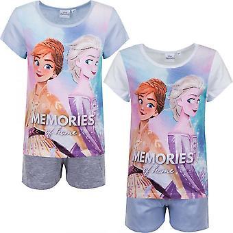 Disney Frost 2 split set - T-shirt i szorty / Piżama z krótkim rękawem
